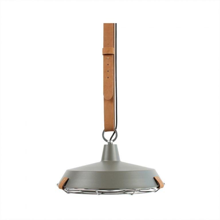 Lamp Cinto 40 mat grijs leer VM-Design