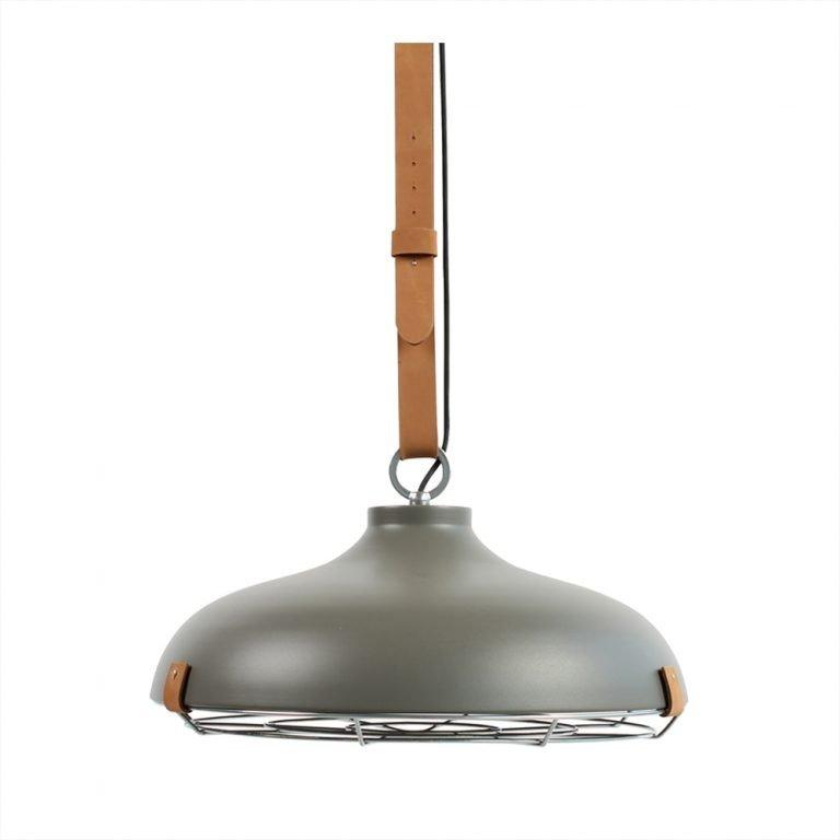 Lamp Cinto 51 mat grijs leer VM-Design