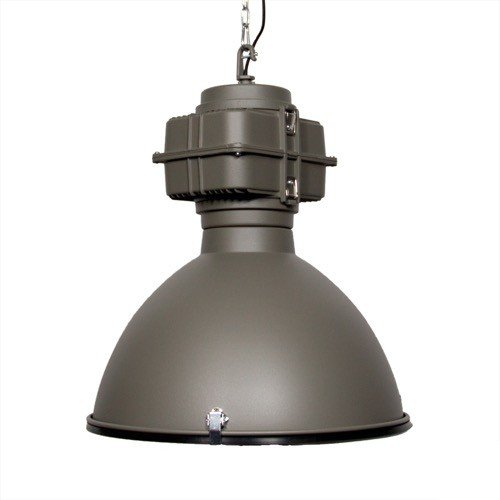 Industriele lamp mat grijs 1 VM-Design