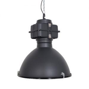 Industriele lamp mat zwart 1 VM-Design