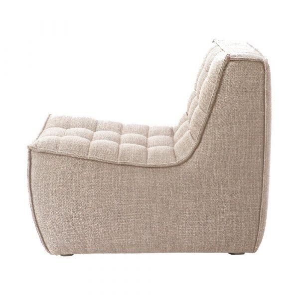 Sofa N701 1 seat beige
