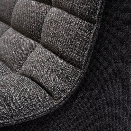 Sofa N701 1 seat dark grey