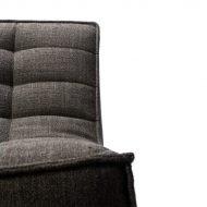 Sofa N701 1 Seat Ethnicraft Dark Grey 2