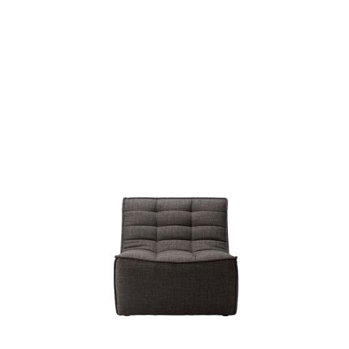 Sofa N701 1 Seat Ethnicraft Dark Grey