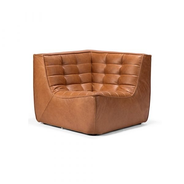 Sofa N701 corner old saddle