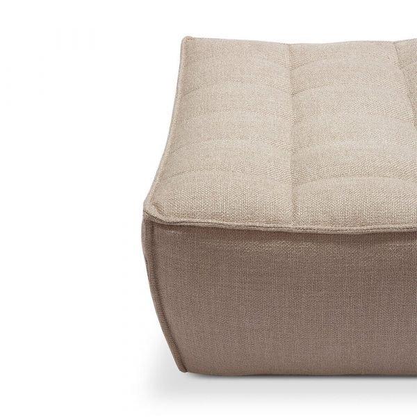 Sofa N701 footstool beige