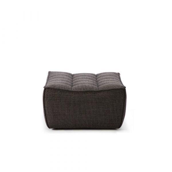 Sofa N701 footstool dark grey