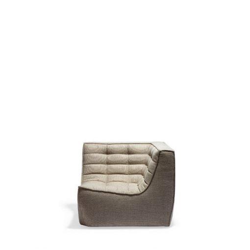 Sofa N701 Corner beige Ethnicraft 2