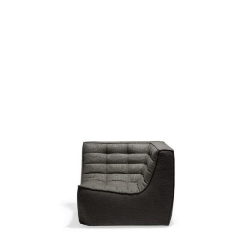 Sofa N701 Corner Dark Grey Ethnicraft 2