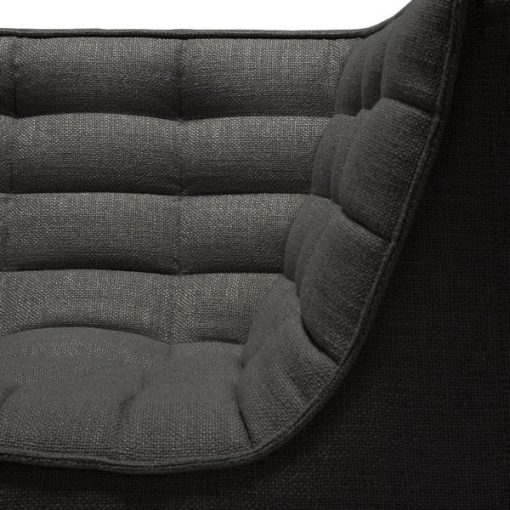 Sofa N701 Corner Dark Grey Ethnicraft 3