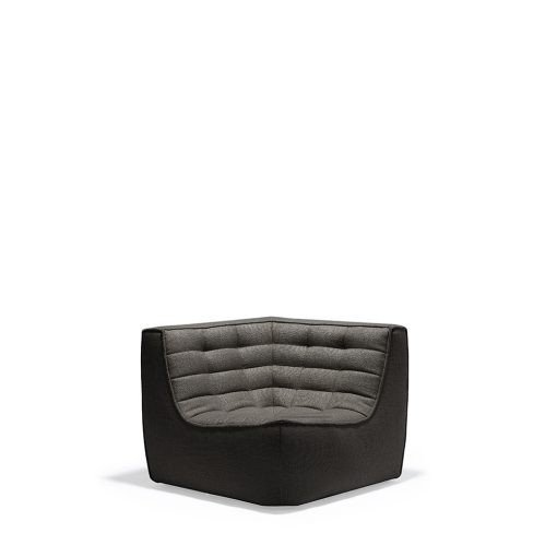 Sofa N701 Corner Dark Grey Ethnicraft