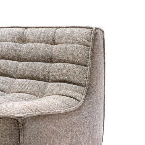 Sofa N701 2 seater beige ethnicraft 2