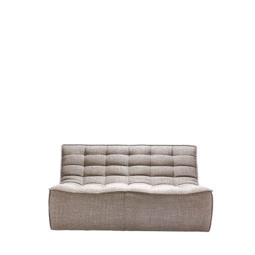 Sofa N701 2 seater beige ethnicraft