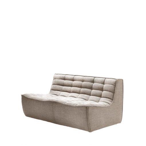 Sofa N701 2 seater beige ethnicraft 4