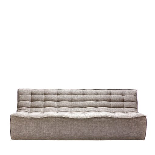 Sofa N701 3 seater beige ethnicraft