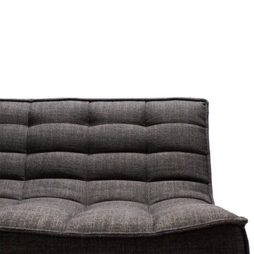 Sofa N701 2 seater dark grey ethnicraft 2
