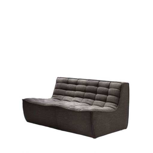 Sofa N701 2 seater dark grey ethnicraft 4