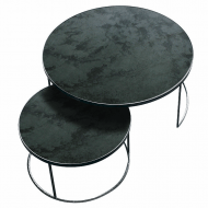 20701 Charcoal Nesting coffee table set