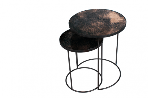 20702 Bronze Nesting side table set