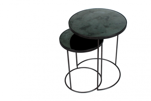 20703 Charcoal Nesting side table set