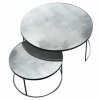 20722 Clear Nesting coffee table set