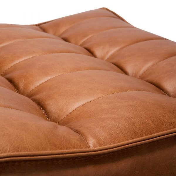 Sofa N701 footstool old saddle