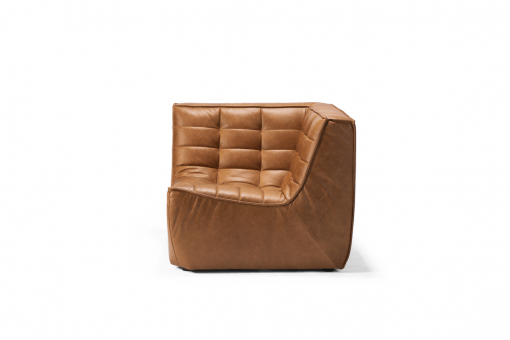 20080 Sofa N701 - corner - nut - old saddle 91x91x76_f