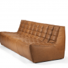 20084 Sofa N701 - 3 seater - nut - old saddle 210x91x76