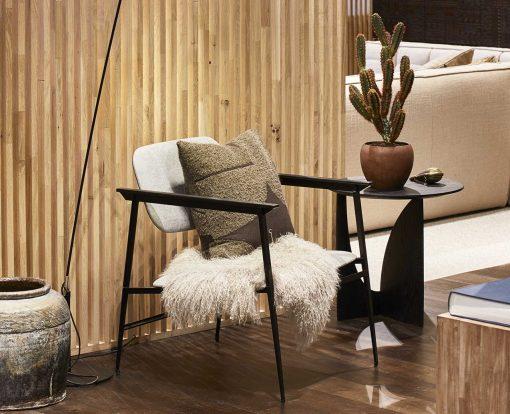 DC lounge chair licht grijs Ethnicraft TGE-060085