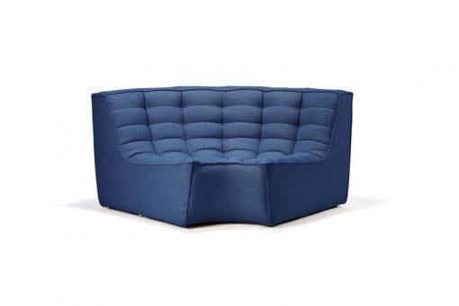20070 N701 sofa - round corner - blue