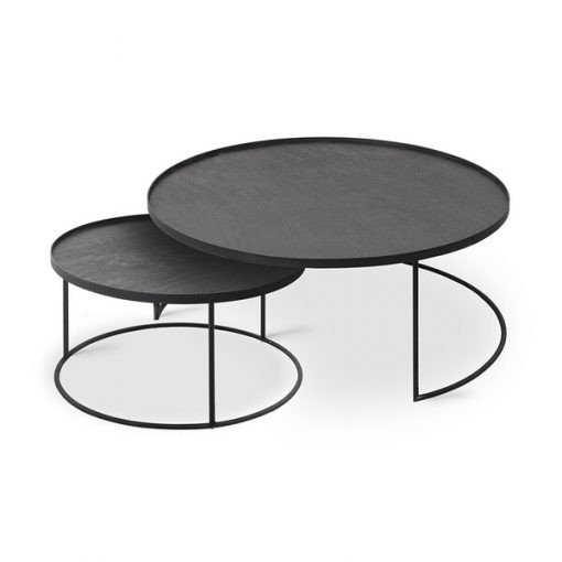 Tray coffeetable set low groot
