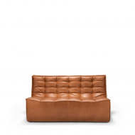 Sofa N701 2 seat old saddle