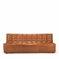 Sofa N701 3 seat old saddle