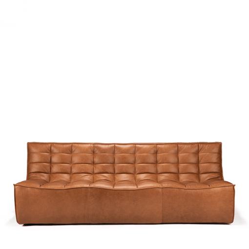 Sofa N701 3 seat old saddle