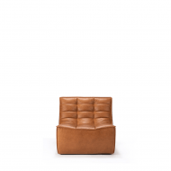 Sofa N701 1 seat old saddle