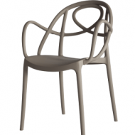 Etoile Chair Dove Grey Arm