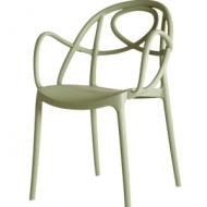 Etoile Chair Apple Green Arm