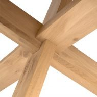 Oak Circle Dining Table 163 Ethnicraft