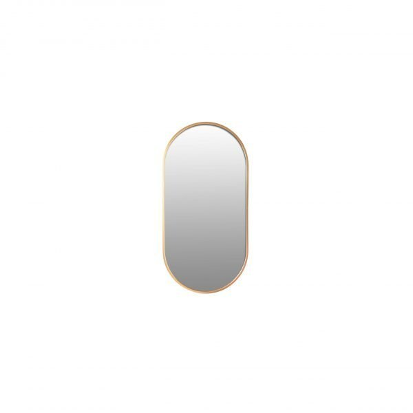 Spiegel ovaal goud 30x60 VM-Desig