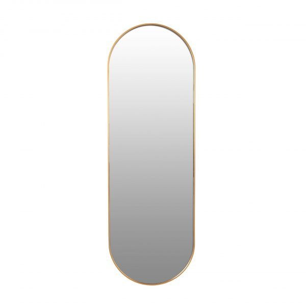 Spiegel ovaal goud 50x150 VM-Design