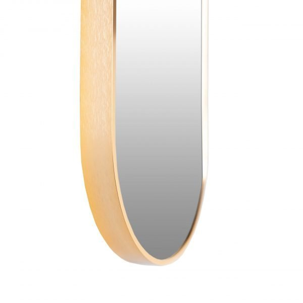 Spiegel ovaal goud detail VM-Design