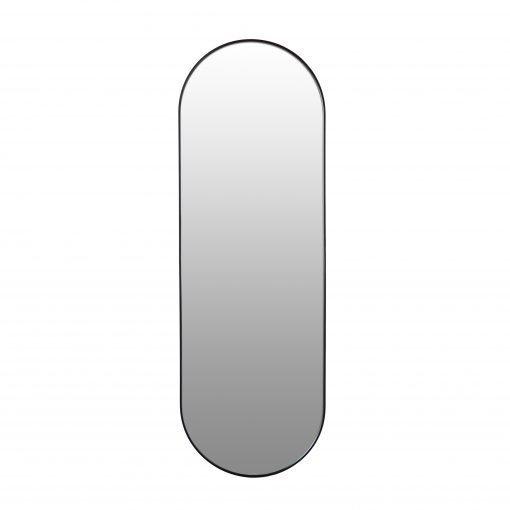 Spiegel ovaal zwart 50x150 VM-Design
