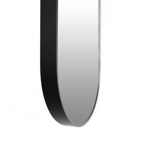 Spiegel ovaal zwart detail VM-Design