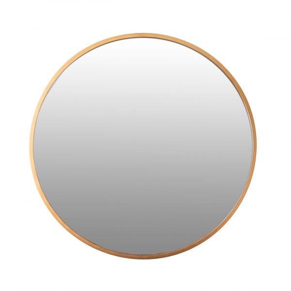 Spiegel rond goud 100 VM-Design