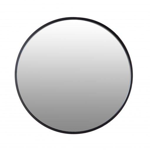 Spiegel rond zwart 100 VM-Design