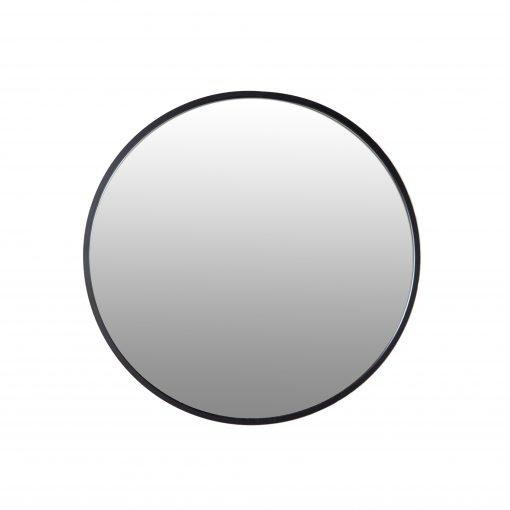 Spiegel rond zwart 80 VM-Design