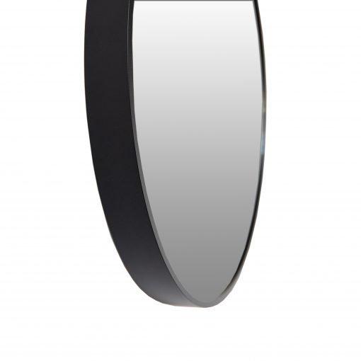 Spiegel rond zwart detail VM-Design