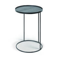 Ethnicraft | Round tray side table - small