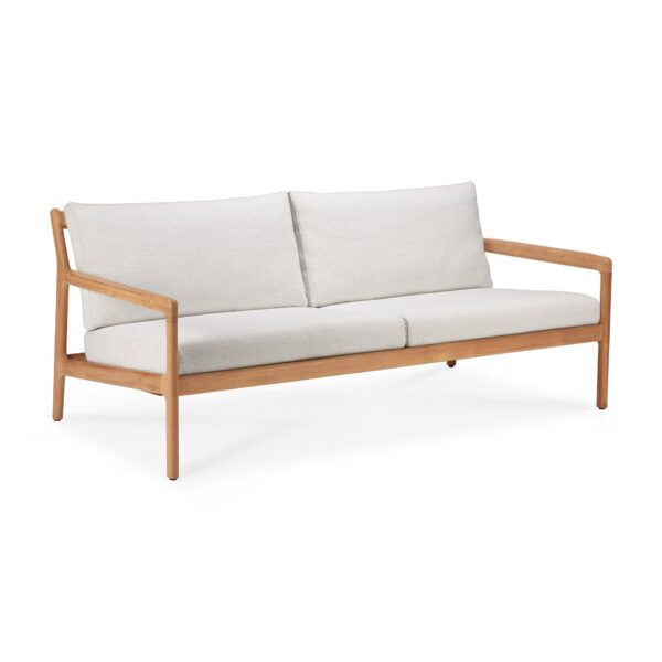 Tuinbank Teak Jack - sofa 180 - off white outdoor