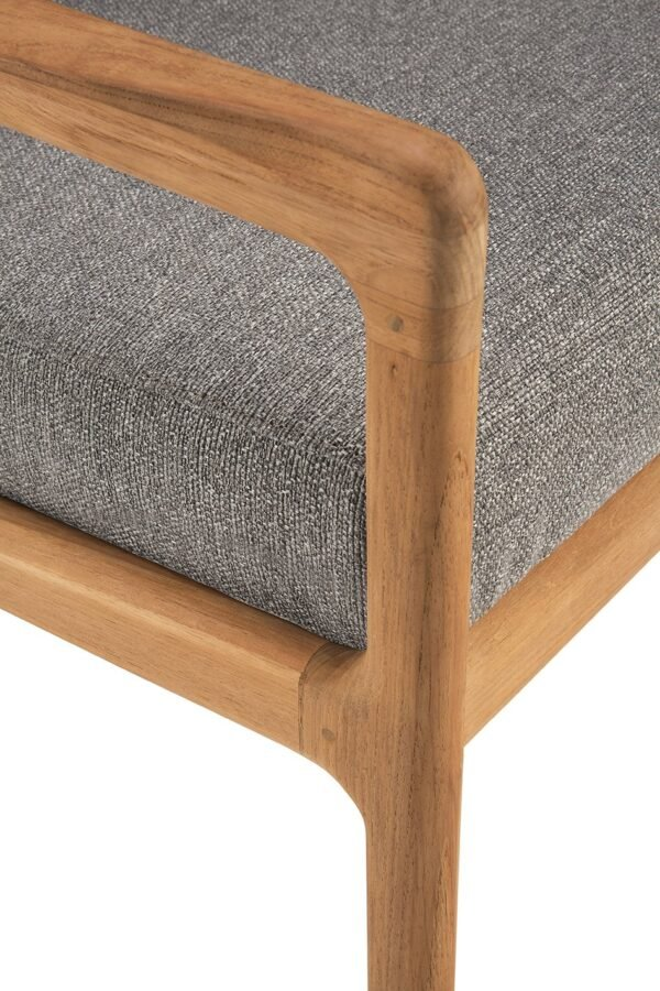 Tuinbank Teak Jack - lounge chair - mocha outdoor
